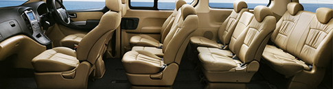 Hyundai Starex Seating Capacity