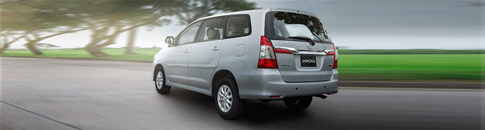 Toyota Innova Package Rates
