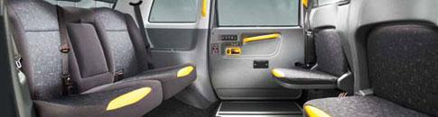 London Cab - Seating Capacity