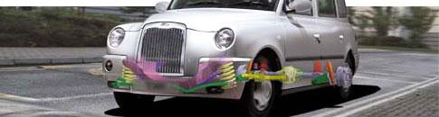 Suspension of the LTI TXI London Cab