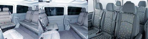 Maxi Cab Flexible Layouts