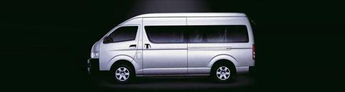 Minibus rental package rates