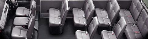 Minibus Rental Seating Capacity