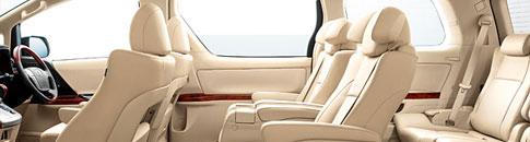 Toyota Vellfire Cab - Singapore - Seating Capacity